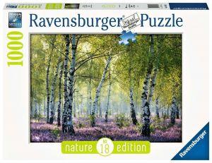 Puzzle Ravensburger 1000 dílků - Březový háj 167531