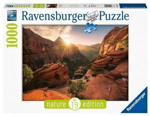 Puzzle Ravensburger 1000 dílků - Kaňón Zion 167548