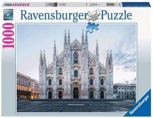 Puzzle Ravensburger 1000 dílků - Katedrála Mediolan - Miláno  167357
