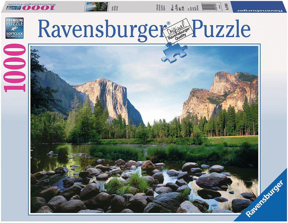 Puzzle Ravensburger 1000 dílků - Národní park Yosemite 192066