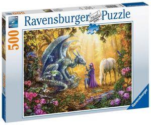 puzzle Ravensburger  500 dílků - Drak 165803