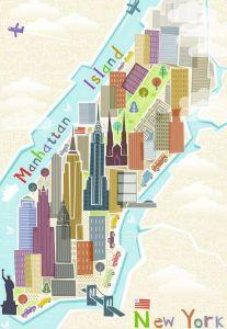 puzzle Ravensburger - 99 dílků - New York   165377