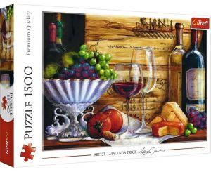 Puzzle Trefl 1500 dílků - Malenda Trick - Vinárna   26174