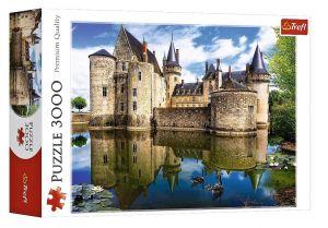 Puzzle TREFL 3000 dílků - zámek Sully - Loara  33075