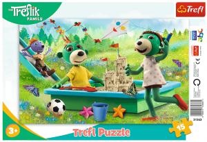 Puzzle Trefl v rámečku ( rámkové ) - Treflíci 31363
