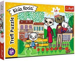 Trefl Puzzle Maxi 24 dílků - Kicia Kocia 14316