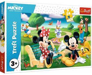 Trefl Puzzle Maxi 24 dílků - Mickey Mouse - s přáteli   14344