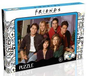 Winning Moves - puzzle 1000 dílků - Přátelé - Apartment  42239
