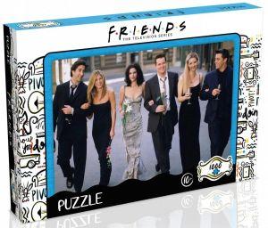 Winning Moves - puzzle 1000 dílků - Přátelé - Banquet 42246