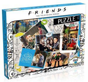 Winning Moves - puzzle 1000 dílků - Přátelé - Koláž 39611