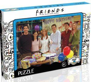 Winning Moves - puzzle 1000 dílků - Přátelé - Narozeniny 41167