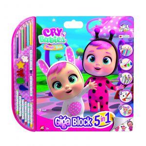 AS - set 5v1 pro malého umělce - Cry Babies