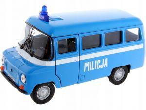 auto Welly 1:34 - Nysa 522 -  Milicja - modrá   barva