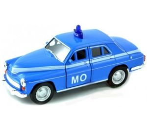 auto Welly 1:34 - Warszawa 224 - MO - modrá barva
