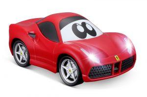 Bburago - autíčko Ferrari 488 GTB - zelená energie  13,5  cm - červené