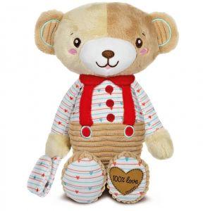 Clementoni - můj plyšový kamarád medvídek 17480