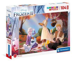 Clementoni puzzle 104 dílků MAXI - Frozen II  23757