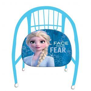 Dětská kovová židlička ( křesílko ) -  Frozen - Ledové království