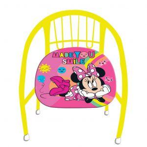 Dětská kovová židlička ( křesílko ) -  Minnie