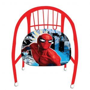 Dětská kovová židlička ( křesílko ) -  Spiderman