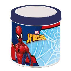 Dětské hodinky - analogové v plechovce  -  Spiderman C