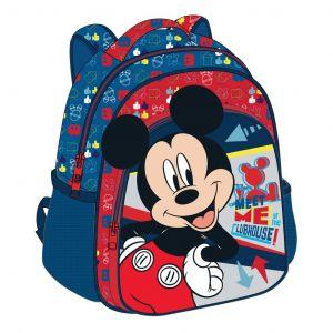 Diakakis -  batoh  na záda 27 x 31 x 10  Mickey s 3D povrchem Mickey B