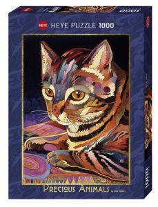 Heye - puzzle 1000 dílků - Kočka   29878