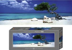 Heye - puzzle 1000 dílků panorama  VON Humboldt - Strom Divi Divi 29399