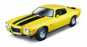 Maisto 1:18  Chevrolet Camaro 1971 - žlutá barva