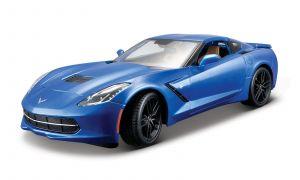 Maisto 1:18  Corvette Stingray Z51  -  modrá barva