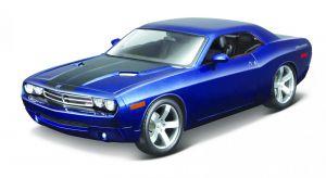 Maisto 1:18  Dodge Challenger Concept 2006 -  modrá barva