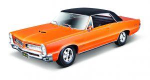 Maisto 1:18  Pontiac  GTO 1965 - oranžová  barva