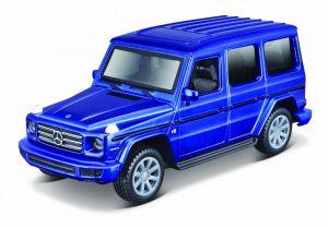 Maisto 21001 PR  Mercedes - Benz G-Class  -  modrá barva
