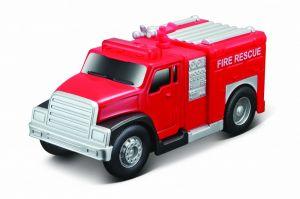 Maisto - hasičské nákladní auto se světelnými efekty Miasto