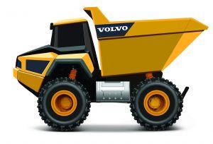 Maisto - RC Volvo A25  - sklápěčka  - Rock Hauler  82056 - žlutá