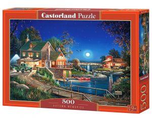 Puzzle Castorland 500 dílků - Podzimní vzpomínky 53421