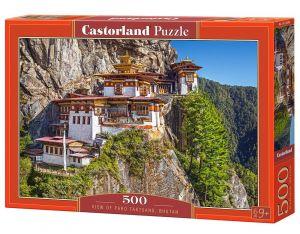 Puzzle Castorland 500 dílků - Pohled na Bhután 53445