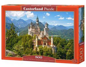 Puzzle Castorland 500 dílků - Zámek Neuschwanstein 53544