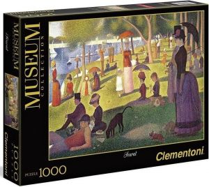 Puzzle Clementoni 1000 dílků - G.Seurat - Nedělní odpoledne na La Grande Jatte  39613