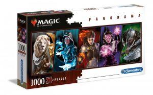 Puzzle Clementoni 1000 dílků panorama -  Magic the Gathering  39565
