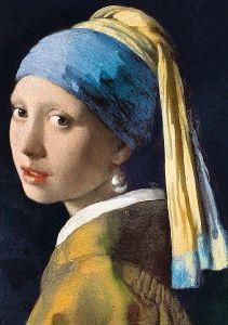 Puzzle Clementoni 1000 dílků - Vermer - Dívka s perlou 39614