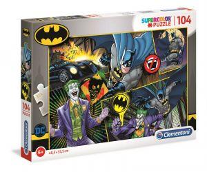 Puzzle Clementoni  - 104 dílků  - Batman  25708