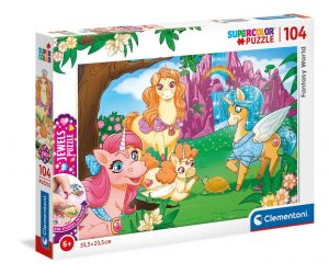 Puzzle Clementoni  - 104 dílků  Jewels   - Fantasy World  20179