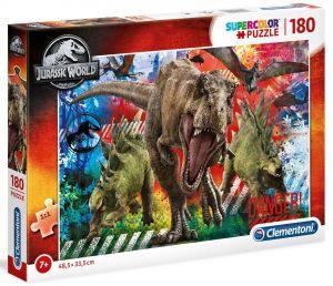 Puzzle Clementoni 180 dílků  -  Jurassic World 29106