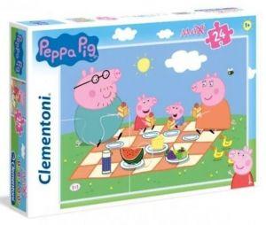 Puzzle Clementoni   24 dílků Maxi - Prasátko Peppa  24028