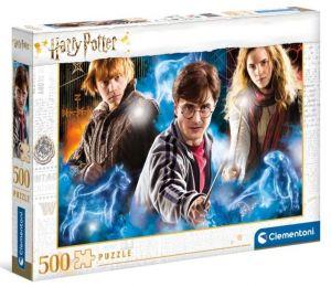 Puzzle Clementoni 500 dílků - Harry Potter 35082