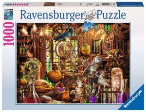 puzzle Ravensburger 1000 dílků - Čarodějova laboratoř 198344