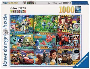 Puzzle Ravensburger 1000 dílků - Filmový pás - Disney Pixar  192229