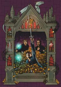 Puzzle Ravensburger 1000 dílků - Harry Potter 4 - kolekce  167494