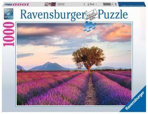 Puzzle Ravensburger 1000 dílků - Levandulové pole 167241